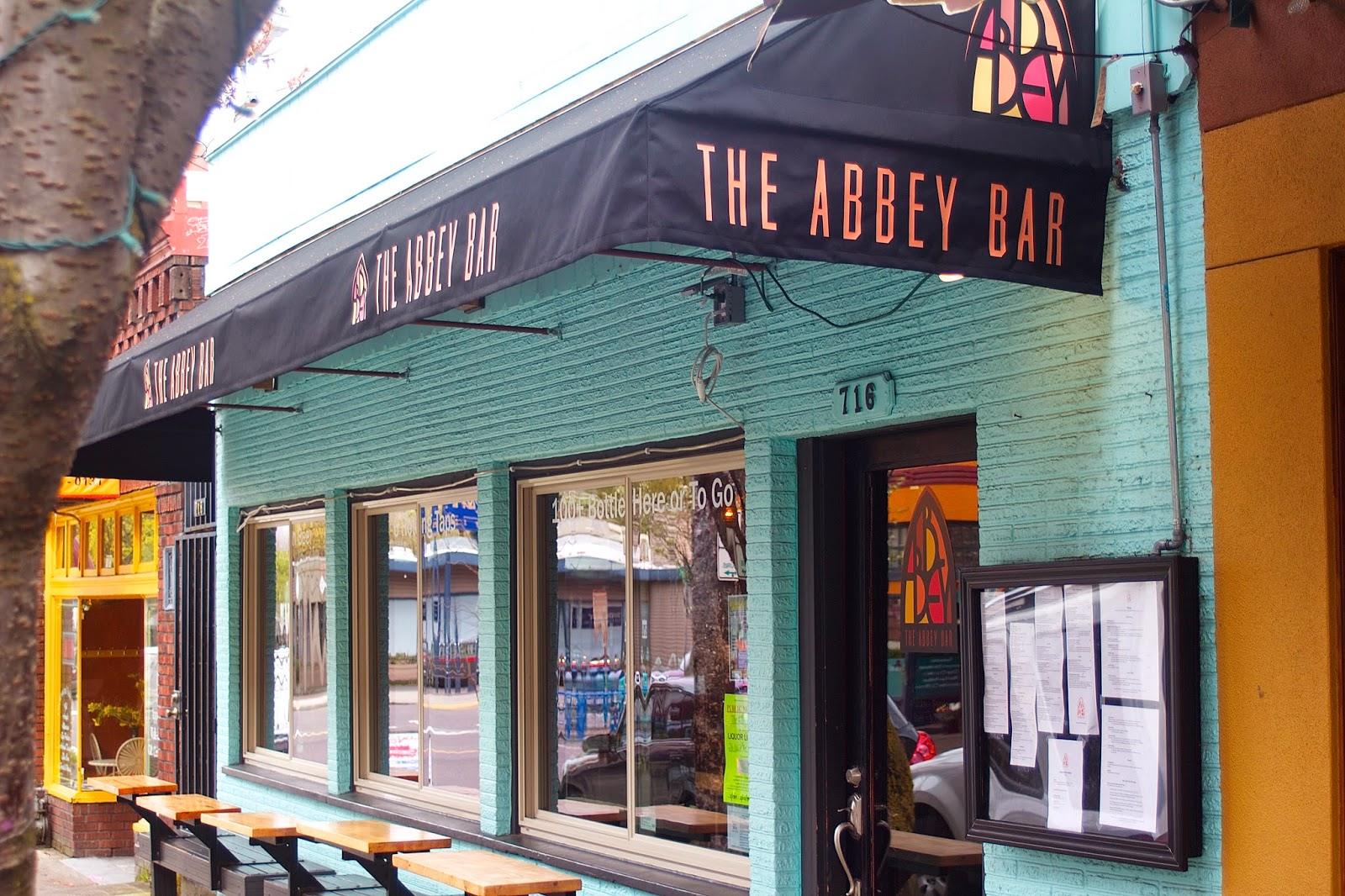 the abbey bar | Development